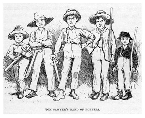 huck finn annotations chapter 1 chapter 16 Summary chapter 22 the mob goes to sherburn's house, wanting to hang him  sherburn points a gun at them he is scornful that they don't have the guts to.